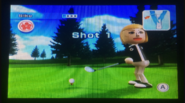 Silke in Golf