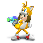 Millie as Tails