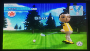 Asami in Golf