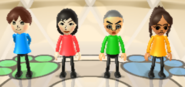 Emily, Misaki, Takashi, and Chika in Animal Tracker