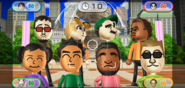 Akira, Miyu, Patrick, and Steve featured in Smile Snap in Wii Party