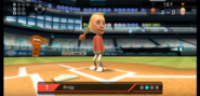 Fritz in Baseball