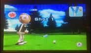 Jessie in Golf