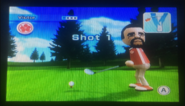 Victor in Golf