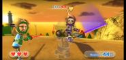 Elisa wearing Purple Armor in Swordplay Showdown