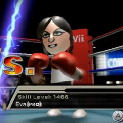 Eva in Boxing.