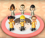 Chika, Rainer, Marisa, Miyu, and Barbara featured in Swap Meet in Wii Party