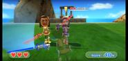 Jessie wearing Purple Armor in Swordplay Showdown