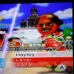 Hayley in Swordplay Speed Slice.