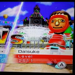 Daisuke in Swordplay Speed Slice