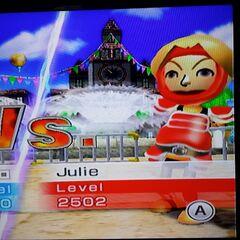Julie in Swordplay Speed Slice.