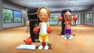 Mia in rhythm boxing
