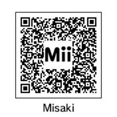 Misaki's QR Code.