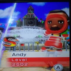 Andy in Swordplay Speed Slice.