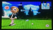 Alisha in Golf