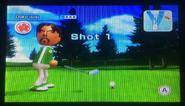 Gabriele in Golf
