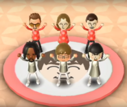 Cole, Alex, Chris, and Marisa featured in Swap Meet in Wii Party
