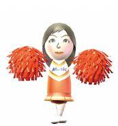 Misaki cheerleader