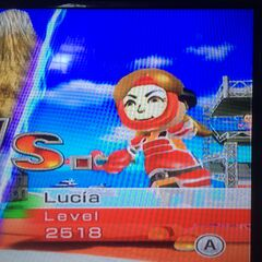 Lucia Swordfighting at High Noon.