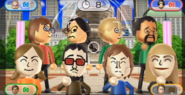 Keiko, Kentaro, Lucia, Akira, Pierre, and Gabi featured in Smile Snap in Wii Party