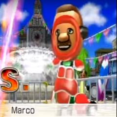 Marco in Swordplay Speed Slice.