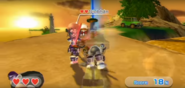 Siobhan wearing Purple Armor in Swordplay Showdown