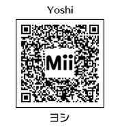 HEYimHeroic 3DS QR-011 Yoshi