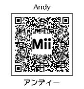 HEYimHeroic 3DS QR-020 Andy