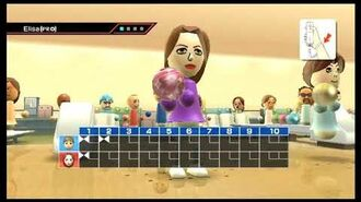 Wii Sports - Defeating Elisa in all Sports!-0