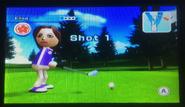 Elisa in Golf