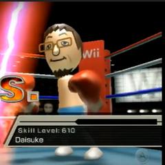 Daisuke in Boxing