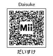 HEYimHeroic 3DS QR-035 Daisuke