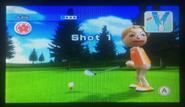 Julie in Golf