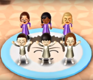 Helen, Haru, Holly, and Rin featured in Swap Meet in Wii Party