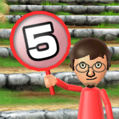 Luca is shocked as he picks the same number as the other players.