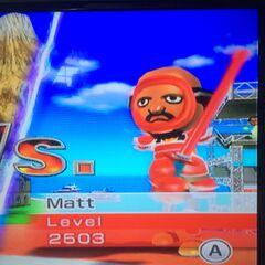 Matt Swordfighting at High Noon