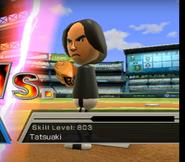 Tatsuaki in Baseball