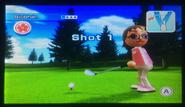 Siobhan in Golf