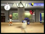 Wii Sports - Boxing - Working The Bag