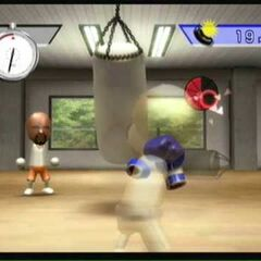 Another picture of a Boxing Training Game