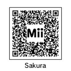 Sakura's QR Code.