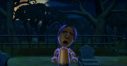 George as a Zombie in Zombie Tag in Wii Party