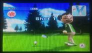Midori in Golf
