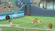 Wii Sports Club Tennis Champions Alice & Barbara