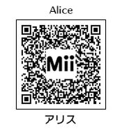 HEYimHeroic 3DS QR-041 Alice