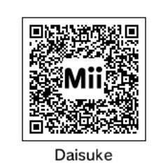 QR Code for Daisuke, as seen in the portrait