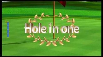 Wii Sports Golf- 9 Holes -22 (Theoretical Score)
