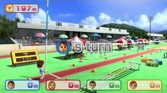 Wii Party U Minigame Showcase - Mii Vaulters