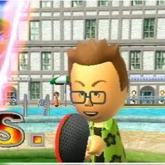 Oscar in Table Tennis.