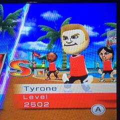 Tyrone playing Basketball at High Noon.